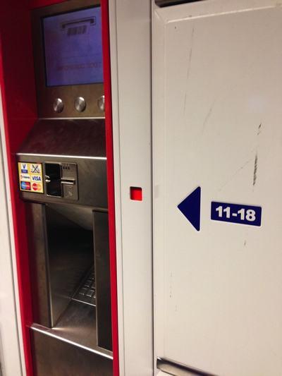 Taquillas de la Estación Central de Ámsterdam