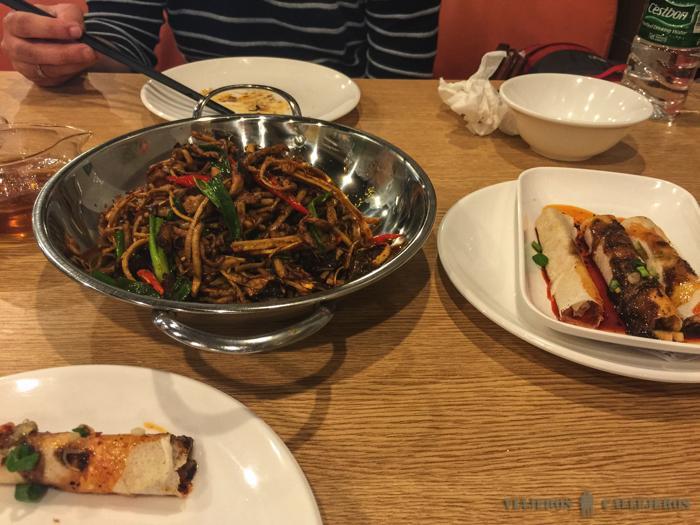 Comiendo en Chengdu